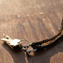 Outlier - Outlier Leather Braided Keychain