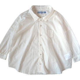 ordinary fits - BARBAR SHIRT WHITE