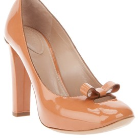 Chloé - Bow detail pump