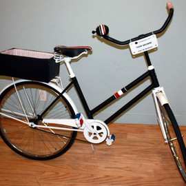 Bowery Lane Bicycle - Designed by Thom Browne