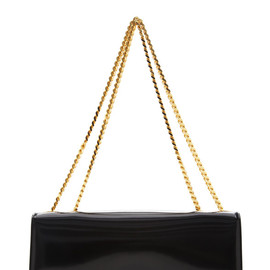 MARC JACOBS - RESORT 2015 Double Trouble Clutch In Polished Violet With Deep Gold