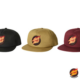 Santa Cruz Skateboards, STANDARD CALIFORNIA - SANTA CRUZ × SD Flame Logo Twill Cap