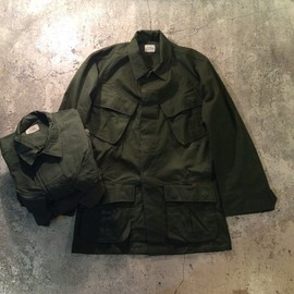 U.S.Military - Jungle Fatigue Jacket/1960's Dead Stock