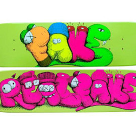 Original Fake,kaws - Kaws Real Deck