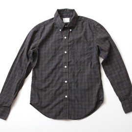BAND OF OUTSIDERS - Plaid Button Down Shirt