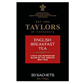 TAYLORS OF HARROGATE - English Breakfast Tea Bags