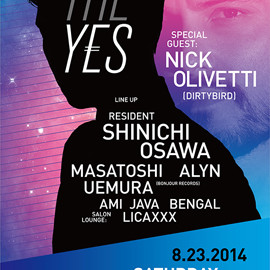 Shinichi Osawa - THE YES 23rd Aug at WOMB TOKYO