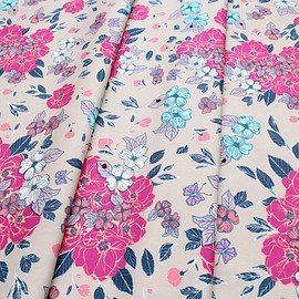 Art Gallery Fabrics - Flower Child Flowery Chant Wild