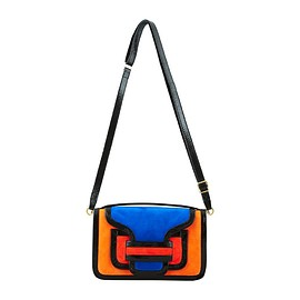 PIERRE HARDY - MULTI ORANGE / BLACK ALPHA CROSSBODY