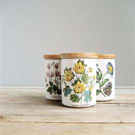Portmeirion Botanical Gardens Set of Three Canisters