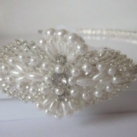 Luulla - Luxury Hair Piece - AVA - Crystal Rhinestone Headband