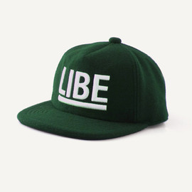 LIBE - BIG LOGO WOOL CAP
