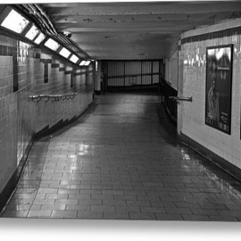 Fine Art America - New York Subway Tunnel Acrylic Print By Eric Tressler