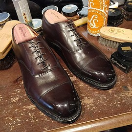 ALDEN×LEATHER SOUL - #920 Straight Tip Bal Calfskin
