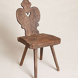 Free People - Vintage Wooden Carved Chair