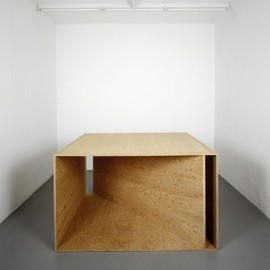Donald Judd - Plywood Sculpture