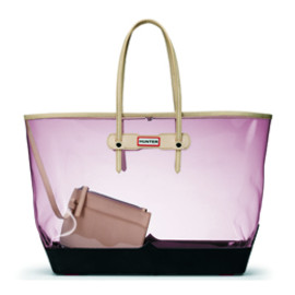 Hunter - FLAMINGO CLEAR TOTE