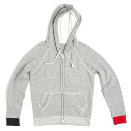 Band of Outsiders - FRENCH TERRY HOODIE