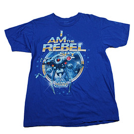 "Disney - 2011 Disneyland Star Tours ""I Am The Rebel Spy"" Shirt Mens Size Medium"