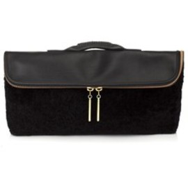 3.1 Phillip Lim - Curly Merino Shearling 31 Minute Bag in Black