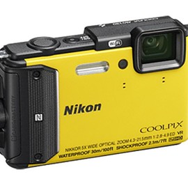 NIKON - coolpix aw 130 yellow