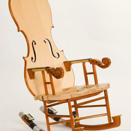 Thomas Orner Creations - Fiddle Rocker No 3