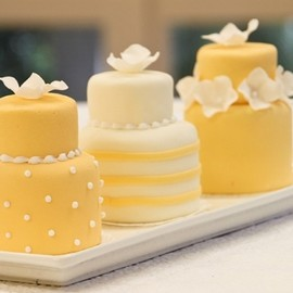 meandyoulookbook - Minature Wedding Cakes