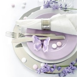 Butterfly Wedding Place Settings