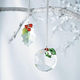 Austrian Crystal Christmas ornaments...