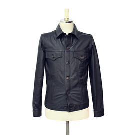 FULLCOUNT - STEER HIDE LEATHER 3rd JACKET
