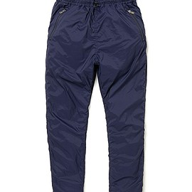 NONNATIVE - SOLDIER EASY PANTS NYLON TAFFETA STRETCH(navy)