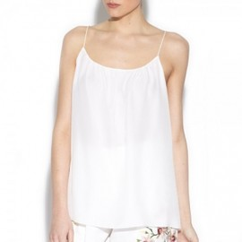 Chloe - 2012/S/S Chloe☆Silk white cami top