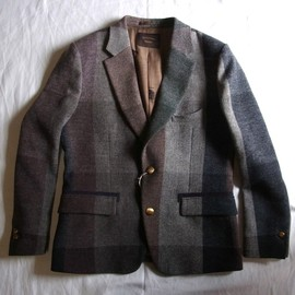 Enharmonic TAVERN - Multi Color Wool Jacket