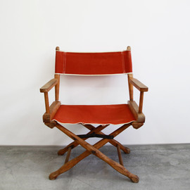Vintage Director's Chair / ORANGE