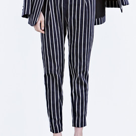 LOW CLASSIC - classic stripe pants