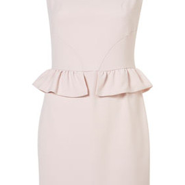 TOPSHOP - Mini Peplum Pencil Shift Dress
