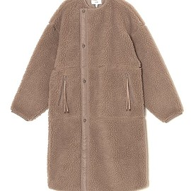 HYKE - FAUX SHEARLING COAT