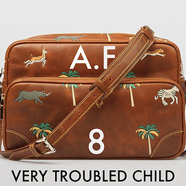 VERY TROUBLED CHILD - The Travel Bag inspired by the Hotel Chevalier & The Darjeeling Limited movies by Wes Anderson.