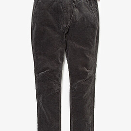 nonnative - CLIMBER EASY PANTS C/P CORDUROY STRETCH by GRAMICCI/CHARCOAL