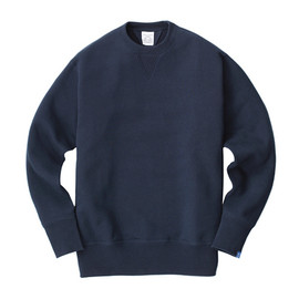 LOOPWHEELER - LW01 LW Basic Crew-neck Set-in Sleeve Pullover