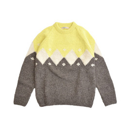 GAIJIN MADE - DIAMOND WOOL SWEATER