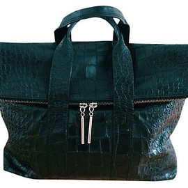 3.1 Phillip Lim - 31 Hour Black Tote Bag