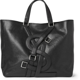 Yves Saint Laurent - Logo Strap Leather Tote Bag