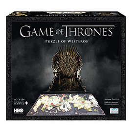 ThinkGeek - Game of Thrones 3D Map of Westeros Puzzle