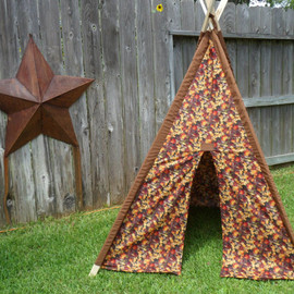 Chevron teepee, black, blue, or red and White Chevron Teepee, Tent, Made to Order
