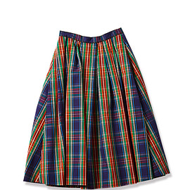 shinzone - Check Flare Skirt
