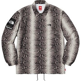Supreme - Supreme®/The North Face® Snakeskin Taped Seam Coaches Jacket