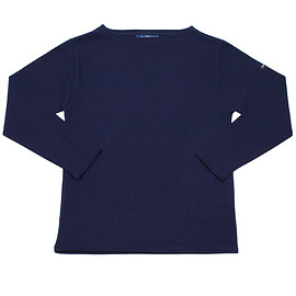 SAINT JAMES - OUESSANT  SOLID NAVY