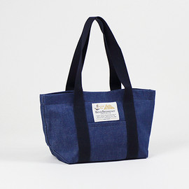 BED&BREAKFAST - sail cloth bag denim medium