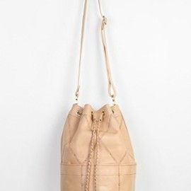 urban outfitters - SANCIA Valencia Studded Leather Bucket Bag